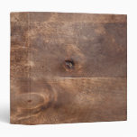 Worn pine board binder