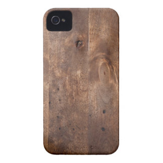 Worn pine board iPhone 4 cover
