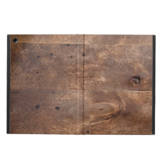 Worn pine board cover for iPad air