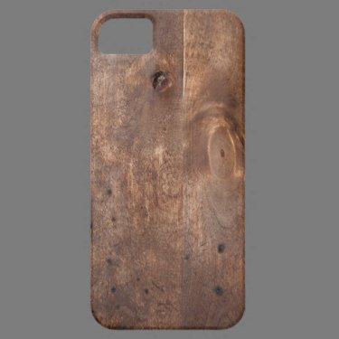 Worn pine board iPhone 5 covers