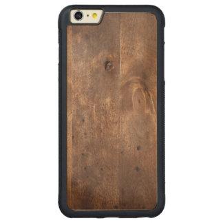 Worn pine board carved® maple iPhone 6 plus bumper case