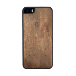 Worn pine board carved® maple iPhone 5 case