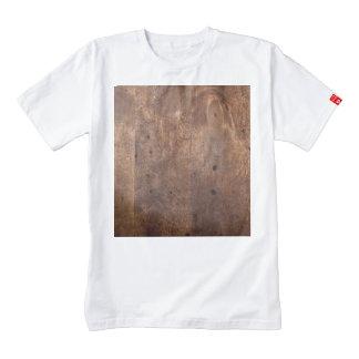 Worn pine board zazzle HEART T-Shirt