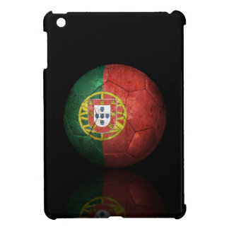 Worn Portuguese Flag Football Soccer Ball iPad Mini Case