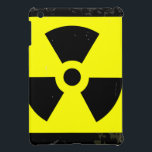 "Worn Radioactive Warning Symbol iPad Mini Cover<br><div class=""desc"">A worn Caution Radiation symbol in yellow and black</div>"