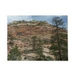Worn Rock Walls in Zion National Park Doormat