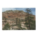Worn Rock Walls in Zion National Park Placemat