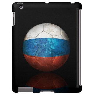 Worn Russian Flag Football Soccer Ball