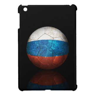 Worn Russian Flag Football Soccer Ball Cover For The iPad Mini