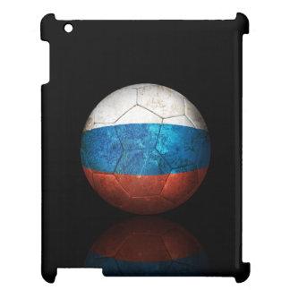 Worn Russian Flag Football Soccer Ball iPad Covers