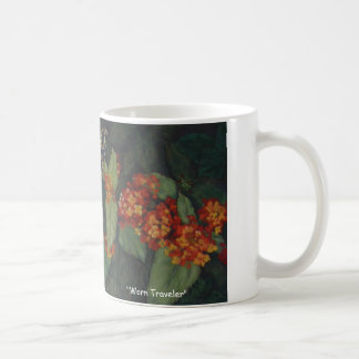 """Worn Traveler"" coffee mug"
