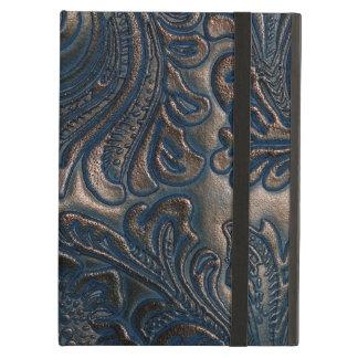 Worn Vintage Embossed Leather iPad Air Cases