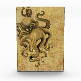 Worn Vintage Octopus Illustration Awards