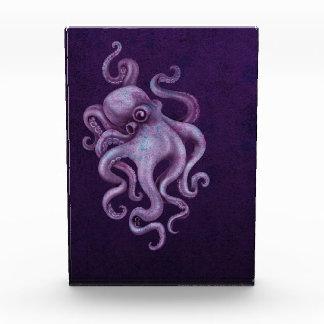 Worn Vintage Octopus Illustration - Purple Award