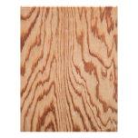 Worn wood grain flyer