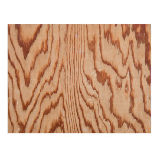 Worn wood grain postcard