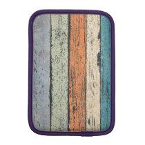 Worn Wood pattern iPad Mini Sleeve