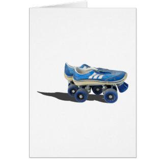 WornTennisShoeRollerSkates050915 Card