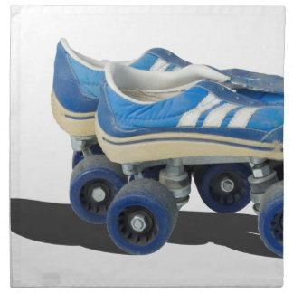 WornTennisShoeRollerSkates050915 Cloth Napkin