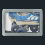 "WornTennisShoeRollerSkates050915 Rectangular Belt Buckle<br><div class=""desc"">Worn tennis shoe roller skates</div>"