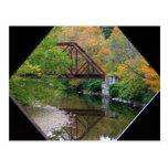 Worral Covered Bridge Vermont View Iron Bridge Post Card