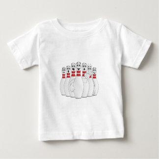 Worried Bowling Pins Cartoon Shirt