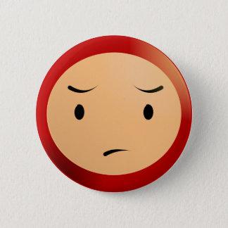 Worried Boy Button