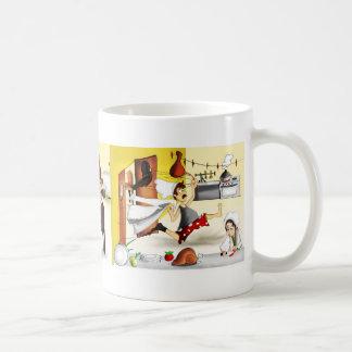 Worried Cheff complete Coffee Mug