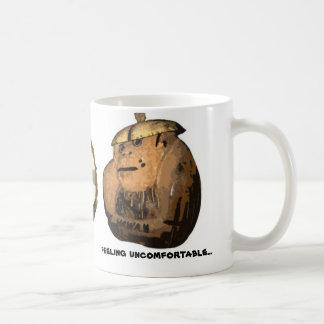 Worried Coconut Monkey Coffee Mug