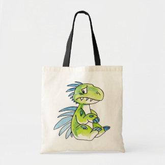 Worried Dinosaur Bag