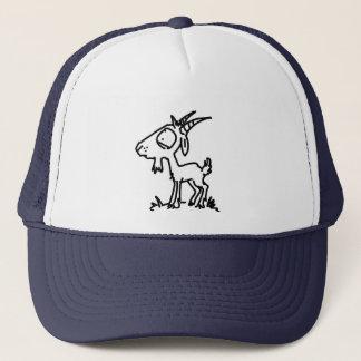 Worried Goat (Plain) Trucker Hat