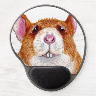 worried rat gel mousepad