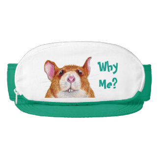 worried rat 'Why Me?' Cap-Sac Visor