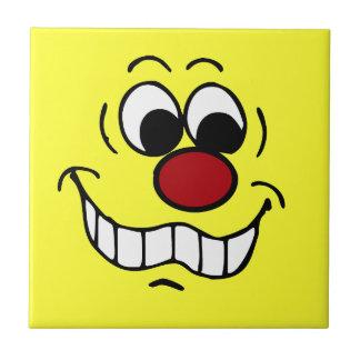 Worried Smiley Face Grumpey Tile