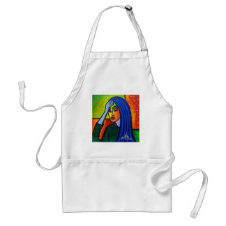 Worry by Piliero Adult Apron