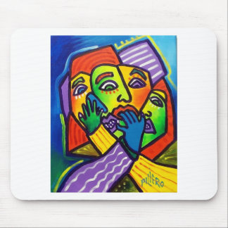 Worry by Piliero Mouse Pad