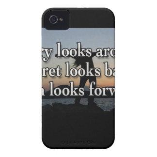 Worry Looks Around iPhone 4 Cover
