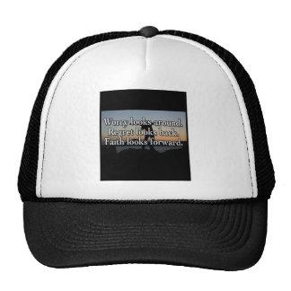 Worry Looks Around Trucker Hat