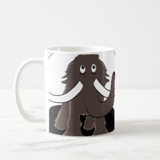 Worry Mammoth Coffee Mug