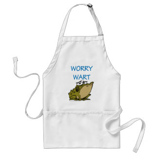 WORRY WART ADULT APRON