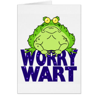 Worry Wart Card