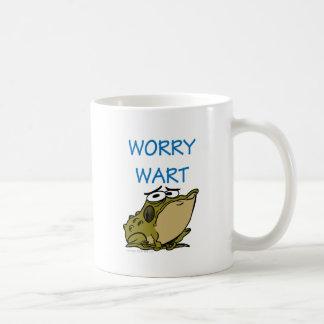 WORRY WART COFFEE MUG