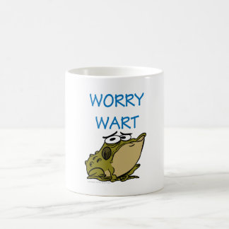 WORRY WART COFFEE MUG