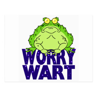 Worry Wart Postcard