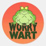Worry Wart Stickers