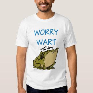 """""""WORRY WART"""" T SHIRT"""