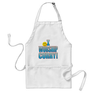Worship Curry Life B Adult Apron