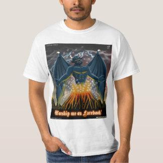 Worship Me on Facebook T-Shirt