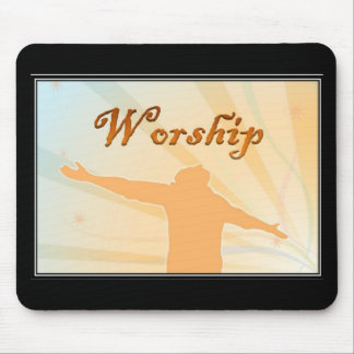 Worship Mouse Pad