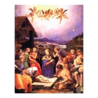 Worship of the Shepherds - Bronzino Flyer Design